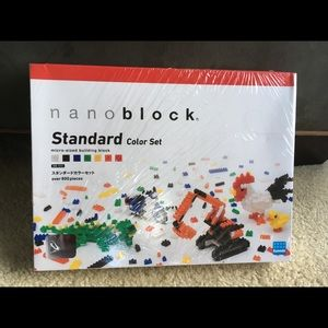 Nanoblock Std Color Set Micro-Sized Bldg 800 pcs